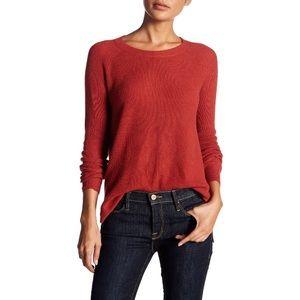 Madewell Waffle Knit Crewneck Sweater M